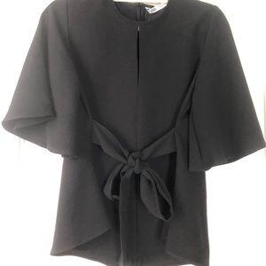 Zara black top. New with tags. Medium.